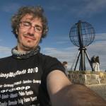Sergio en Cabo Norte
